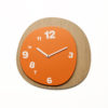 světlé designové hodiny Woodie