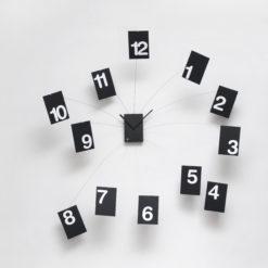 nástěnné hodiny s velkým průměrem