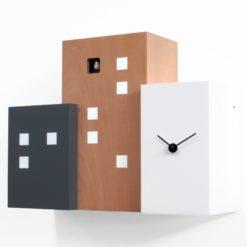 designové kukačky Walls hnědé Progetti