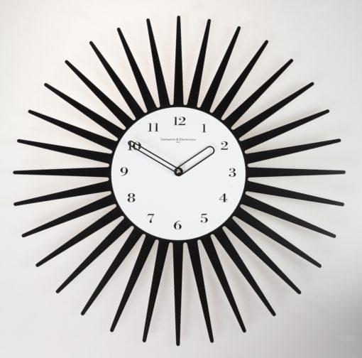 nástěnné hodiny slunce