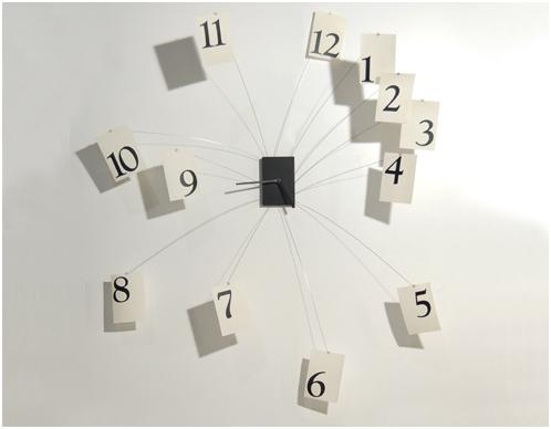 originální velké nástěnné hodiny