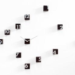 moderní hodiny designové Rnd_Time wenge