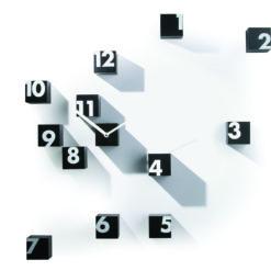 originální designové hodiny Rnd_time