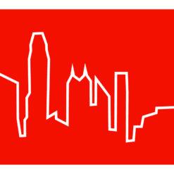 hodiny Skyline Hong Kong