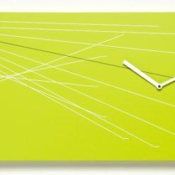 zelené moderní hodiny Timeline