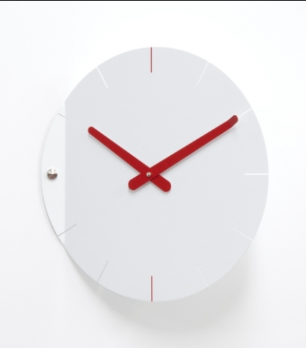 originální designové hodiny Sheet