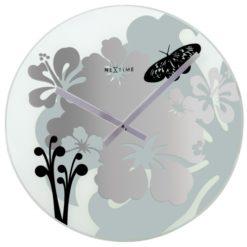 elegantní kulaté nástěnné hodiny