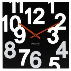 hodiny na zeď Karlsson