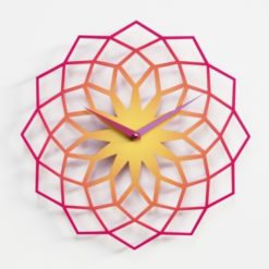 designové hodiny Skallop na stěnu