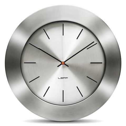hliníkové mederní nástěnné hodiny do obýváku nebo do kuchyně