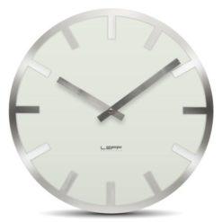 bílé hodiny do kuchyně