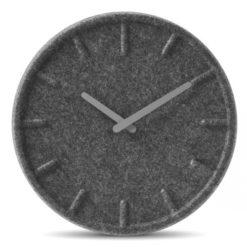 kulaté moderní hodiny na stěnu