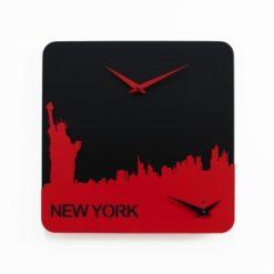 nástěnné hodiny s motivy New Yorku