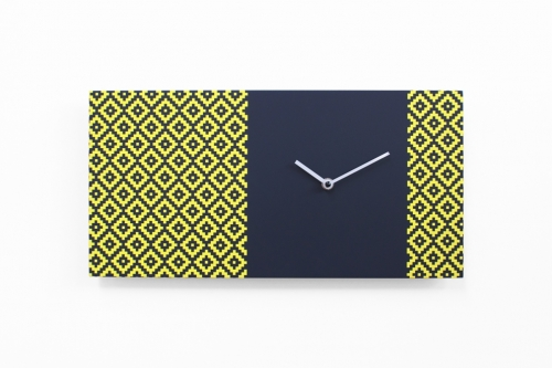dřevěné hodiny na zeď moderní