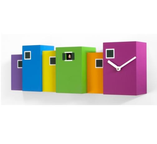 moderní barevné kukačky Burano