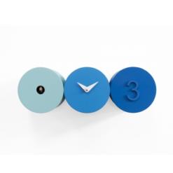 designové kukačky Tris modré Progetti