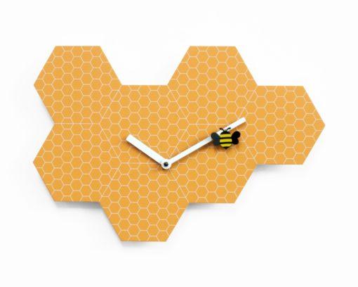 oranžové dětské hodiny Time2Bee