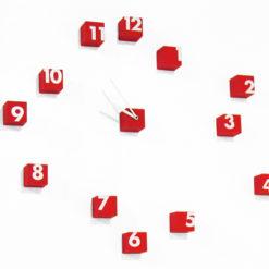 designové hodiny Rnd_time od Progetti