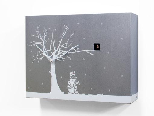 kukačky v designu zimy Progetti