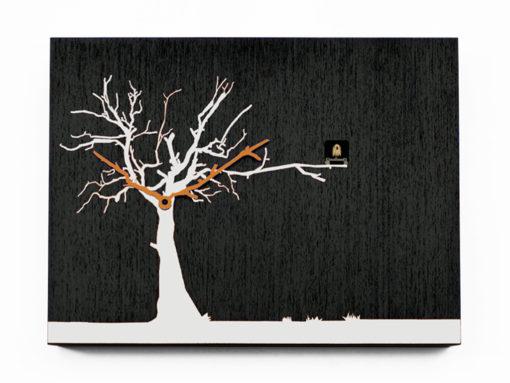 Cucuruku kukačky černé s bílým stromem