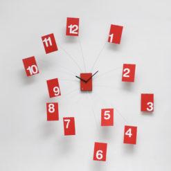 velké nástěnné hodiny do obýváku na zeď
