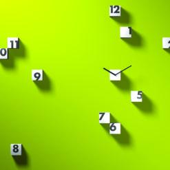 Designové hodiny Rnd_time
