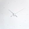 bílé nástěnné hodiny Oj Nomon