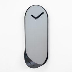 nástěnné hodiny se zrcadlem
