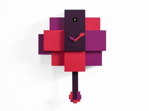 fialové moserní kyvadlové kukačky Choco Progetti