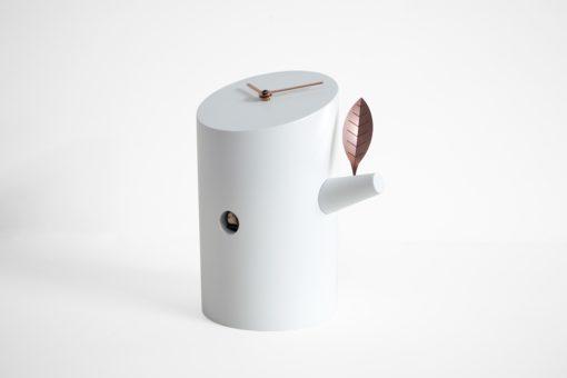 bílé design kukačky Progetti model Nido