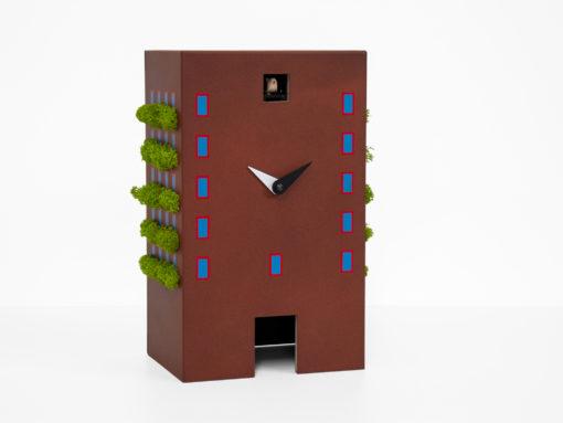 hnědé Urban cuckoo kukačky moderní design Progetti
