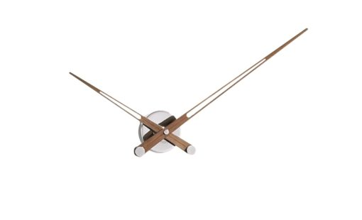 hodiny nástěnné luxusní velké s dřevěnými ručičkami