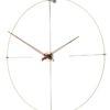 velké dřevěné nástěnné hodiny luxusní