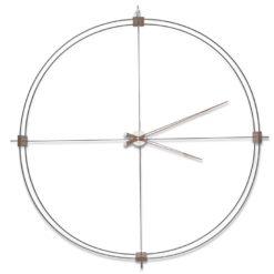 cerne nastenne hodiny Delmori Nomon