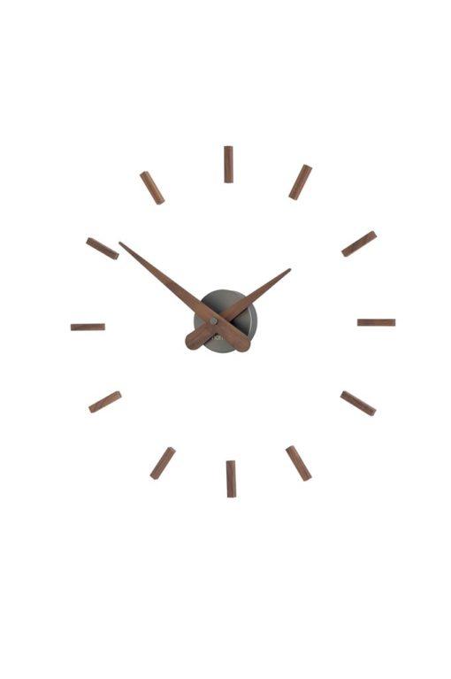 originální luxusní hodiny ořechové dřevo