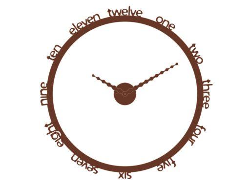 hodiny moderní měď