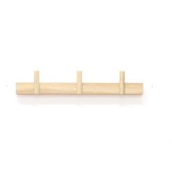 moderní dřevěný věšák na zeď