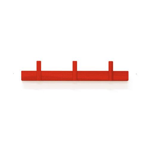 červený věšák na stěnu LINE UP